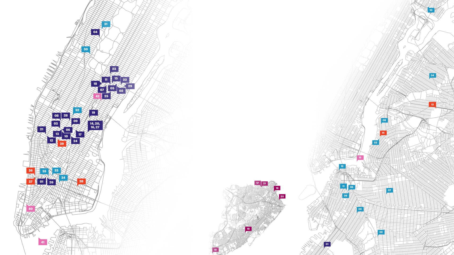 An Ode to NYC Map