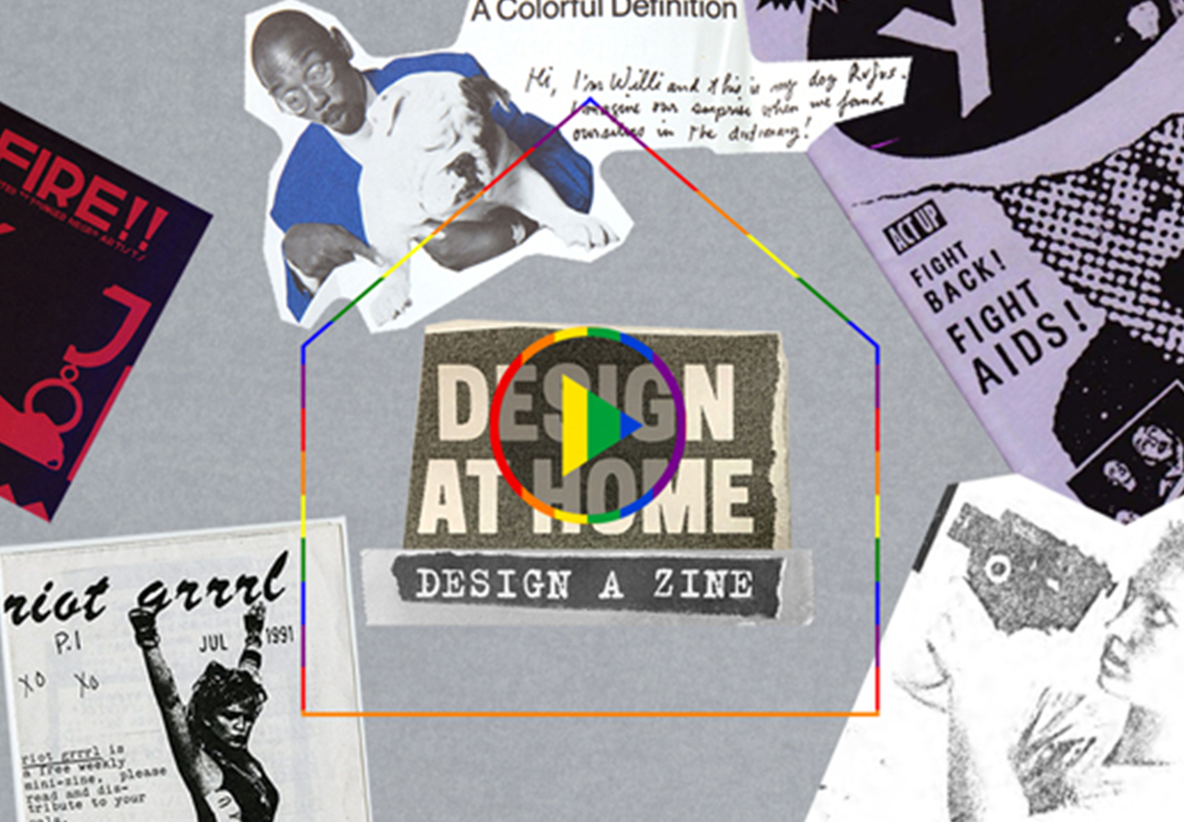 Design at Home: Design a Zine collection