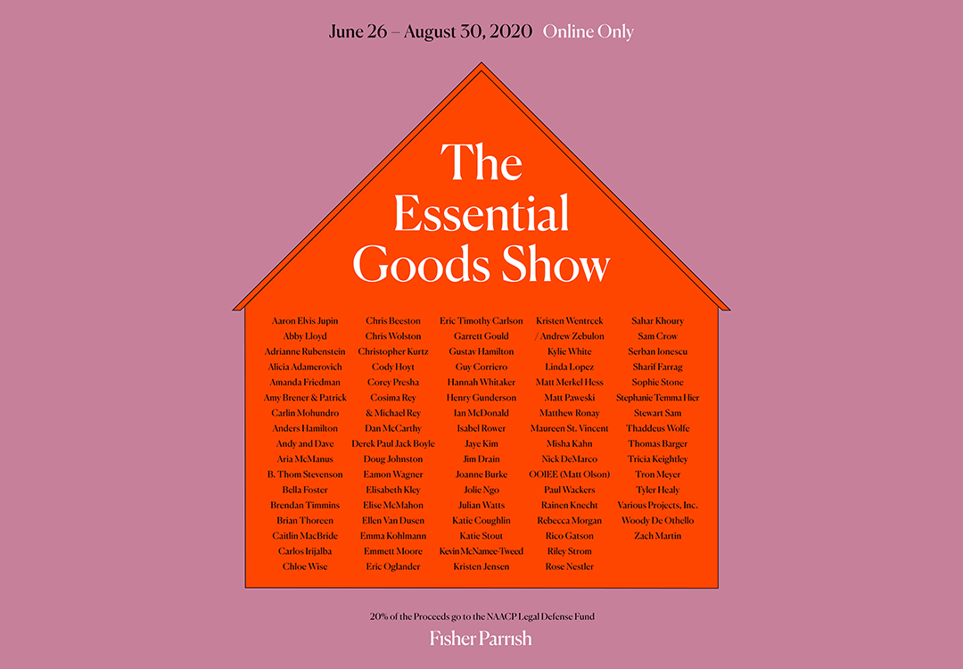 Fisher Parrish Gallery: The Essential Goods Show